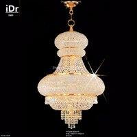 נברשות קריסטל בכרום finishlamps סל כיפת אורות מודרניים תאורת מלון AT 119-בנברשות מתוך פנסים ותאורה באתר