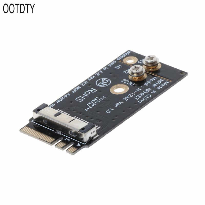 BCM94360CS2 BCM943224PCIEBT2 A/E clé NGFF M.2 adaptateur carte Module 12 + 6 broches sans fil WIFI vitesse