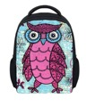 Small Children School Bags 12 inch Owl Printing Prechool Kindergarten Book Bag for Baby Cute Girls Schoolbag Mochia infantil