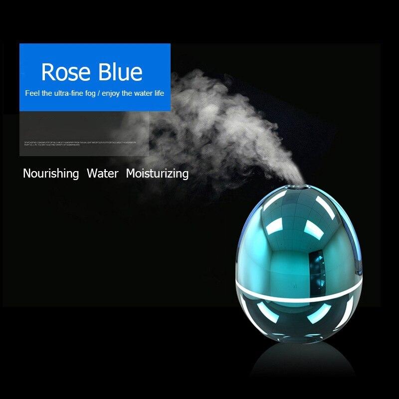 50 ml Tragbare USB Mini Aroma Befeuchter Diffusor Led-leuchten Ultraschall-luftbefeuchter für Home Office Auto