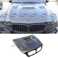 For Vorsteiner Style Car Styling Carbon Fiber Hood Bonnets for BMW E70 E71 X5 X6