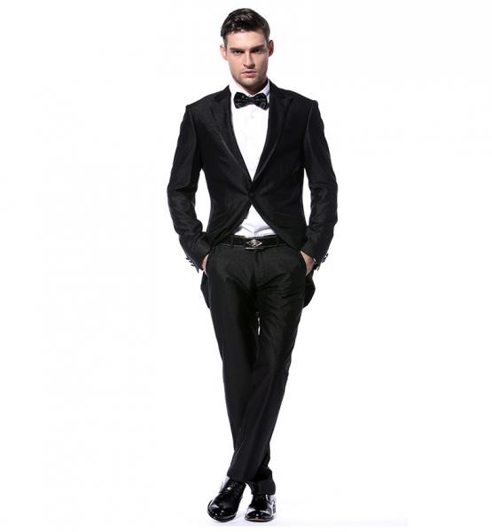 2018 Black Men Dress Suits Latest Design Best Man Wedding Suit Brazer Jacket And Pant 2 Piece In From S Clothing Accessories On Aliexpress