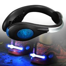 Luminous akumulatorowa lampa led lampka z uchwytem na buty bezpieczeństwo na zewnątrz ostrzegawczy sygnał świetlny odblaskowe bezpieczeństwo nocne akcesoria do biegania dla biegacza tanie tanio HF01271 Baterii Sztyca LACYIE support