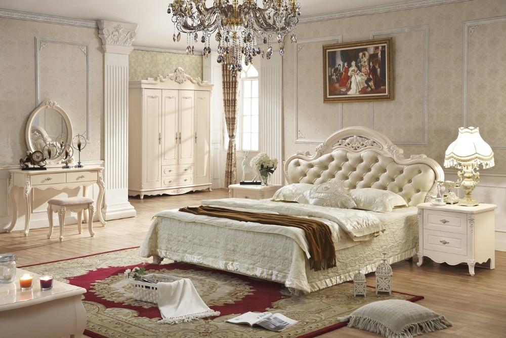 Antique style français mobilier élégant de chambre à coucher py ...