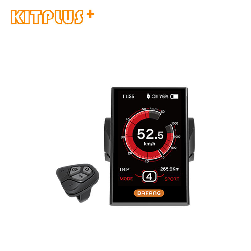 Full Color Display DP C18 Electric Bicycle Color Screen LCD Display Speedometer with USB Interface For