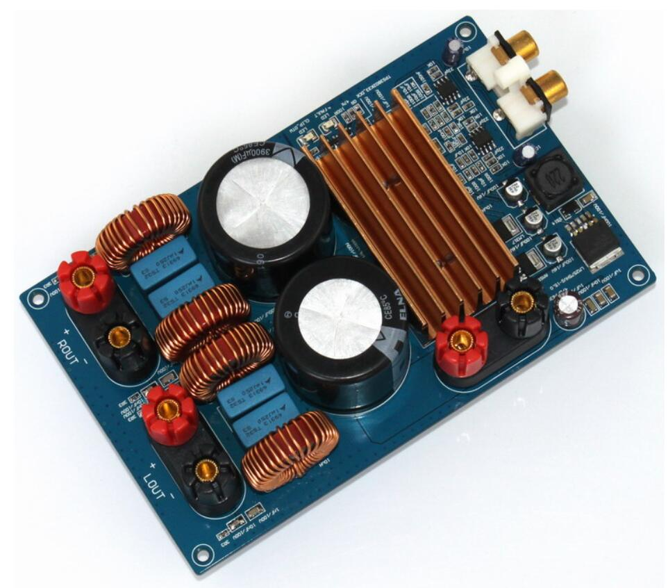 MINI 300W + 300W DC 50V Class D TPA3255 HIFI AUDIO Digital power Amplifier Board