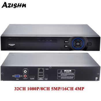 FULL HD 1080P H.265 32CH CCTV NVR 25CH 5MP 8CH 4K NVR 2 SATA HDD XMEYE ONVIF P2P HDMI VGA CCTV Video Recorder 3G WIFI N7932F - Category 🛒 All Category