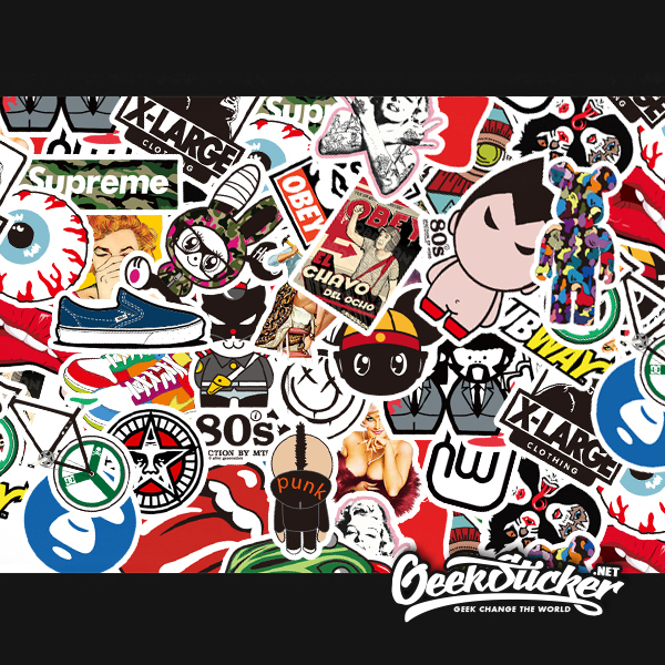 Free shipping 480pcs/lot Waterproof BOMB STICKER PVC Vinyl Car Sticker styling Accessories motorcycle skateboard bike decal