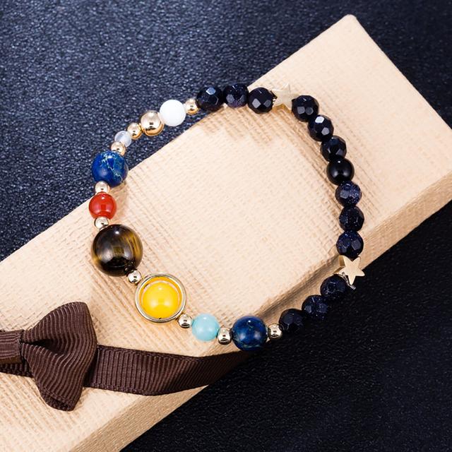 Universe Planets Beads Bracelet
