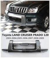 Car Front BUMPER GUARD For Toyota LAND CRUISER PRADO FJ120 2003.2004.2005.2006.2007.2008.2009 High Quality Auto BUMPER Plate