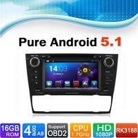 Pure Android 5.1 Car GPS Navigation System for BMW E90 E91 E92 E93(2005-2012) with Radio Bluetooth Touchscreen