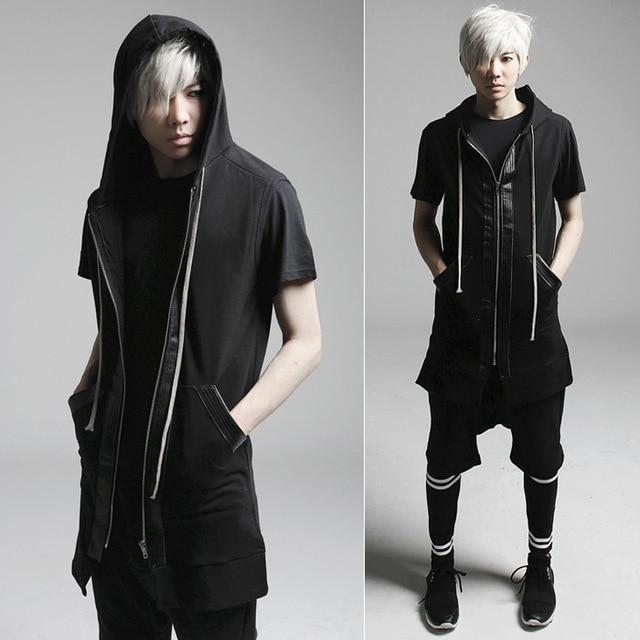 2017 Metrosexual new Vest Jacket slim stylish personality Ma Jiachao MJ21 P85.