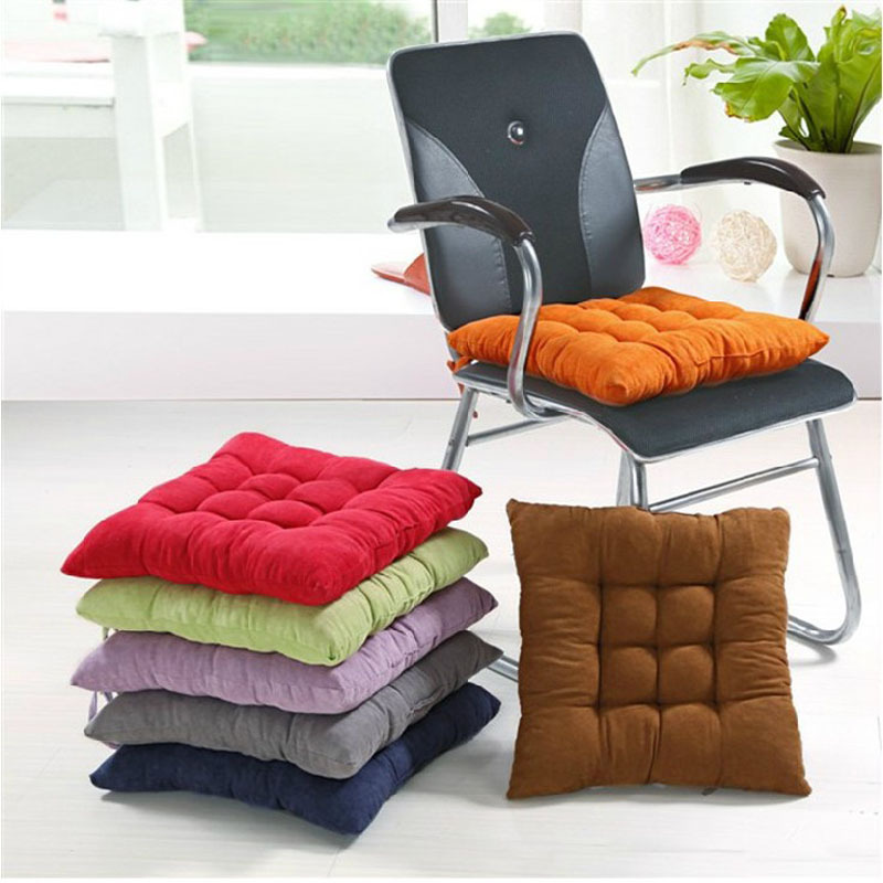 Free Shipping Suede Fabric Bench Cushion Chair Car Seat Thickening Mattress Dining Soft Pad Winter