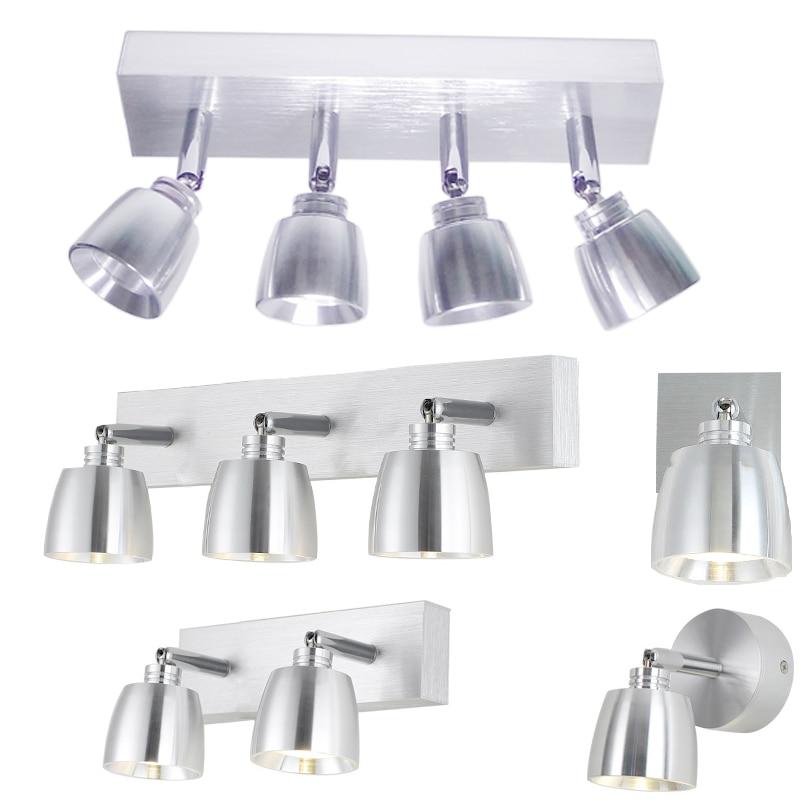 3 w 6 w 9 w 12 w Moderne En Aluminium LED avant miroir lumière salle de bains maquillage mur lampes led vanité toilettes mur monté appliques éclairage