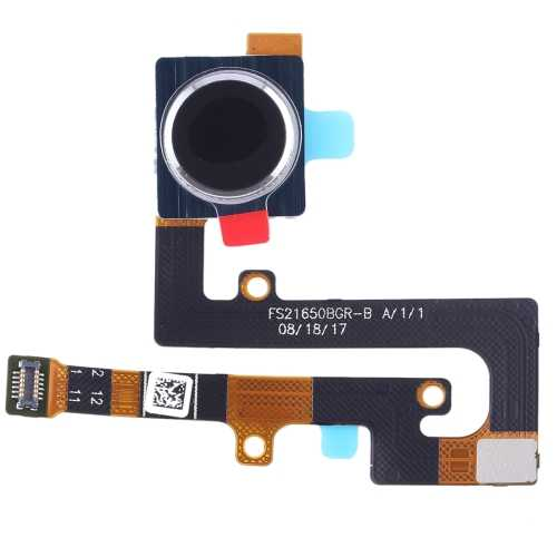 Fingerprint Sensor Flex Cable for Nokia 7.1 / TA-1085 (Black)