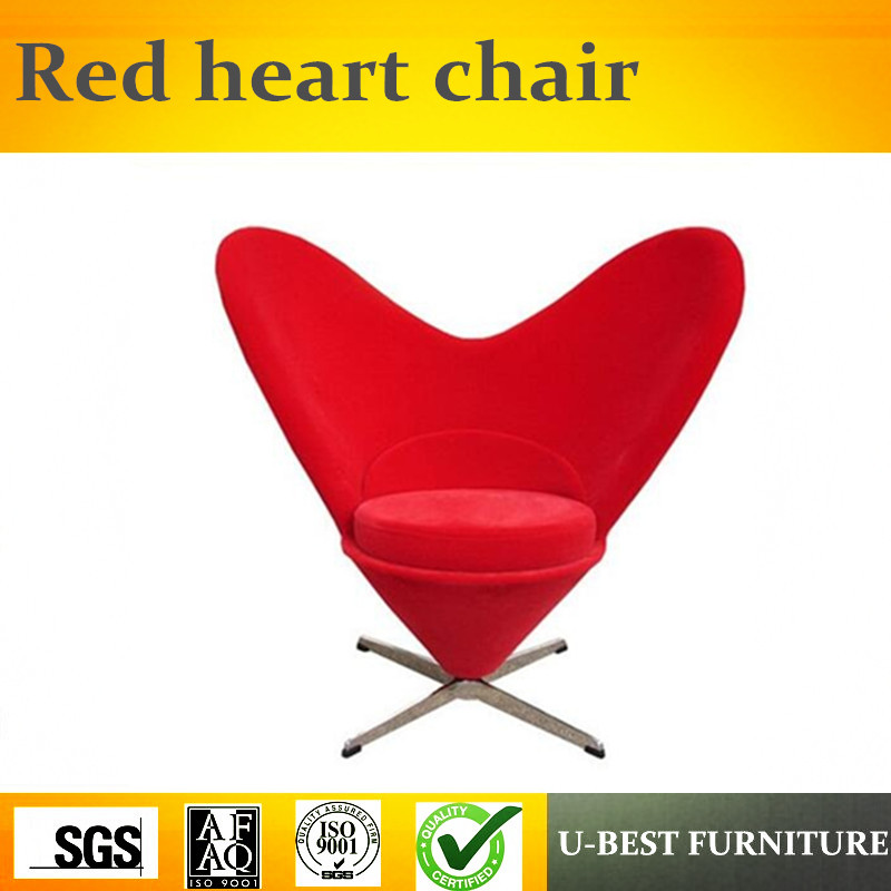 U BEST Leisure Home Furniture Fabric Sweety Heart Shaped Verner Heart Cone  Chair In Chaise Lounge From Furniture On Aliexpress.com   Alibaba Group