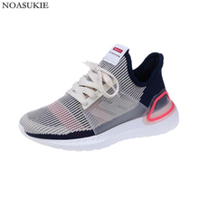 Fashion Mesh Lightweight Summer Shoes Women Platform Sneakers Breathable Fitness Jogging Chunky Duplex Casual