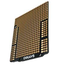 Двухразмерный прототип печатной платы для Arduino