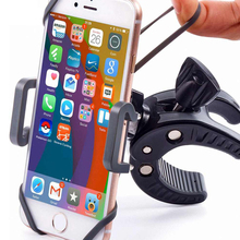 Bicycle Motorcycle Cell Phone Holder Clip Stand for Apple iPhone Samsung Xiaomi Bike GPS Device Hold Support Steering Wheel