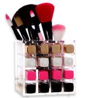 Moda kosmetyki schowek różnorodność szminka specjalne półki Farby brwi ołówek kończąc box A20