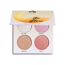 Aurelife Glow Kit Sweet shimmer Highlight Contour Palette Highlighter Bronzer Makeup maquiagem face Palette  powder kit недорого