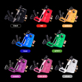 Solong Tattoo New Professional Rotary Tattoo Machine Guns Estigma Hiper V3 Estilo Shader Liner Cor Prata M660