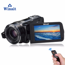 On sale Winait HD 1080P Professional Digital Video Camera 10x Optical Zoom 120x Digital Zoom Wireless DVR With 3.0″ Touch Display