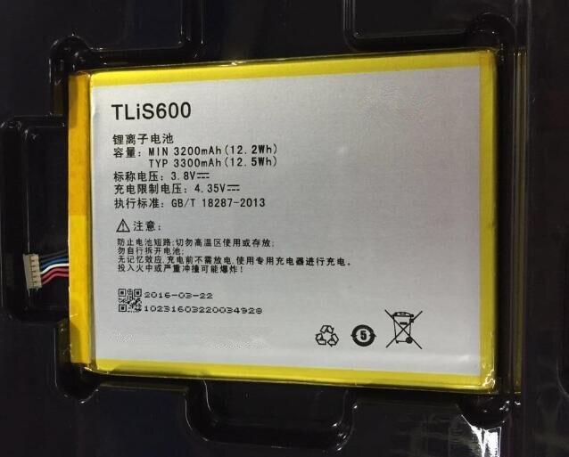 US $7 65  3 8V 3200mAh Old Version TLiS600 / 396686P For TCL S720 S720T  S750T S725T P728M I718M 3N M2U M2L M2M Battery old version-in Mobile Phone