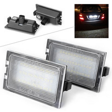 For Land Rover Discovery Series 3 / LR3 4 / LR4 Freelander 2 / LR2 Range Rover Sport Car LED license Number Plate Light Lamp CE цены онлайн