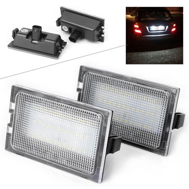 Car LED License Number Plate Light For Land Rover