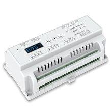 Акция! 12 канальный декодер CVDMX512; DC5-24V вход; 5А* 12CH выход с дисплеем для Настройка адреса DMX