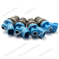 A Set 4pcs Engine Fuel Injector 23250 75070 For Toyota Dyna Hiace Hilux Regiusace