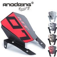 For Yamaha MT 07 FZ 07 MT 07 2013 2015 Motorcycle Motorbike Windshield Windscreen Aluminum