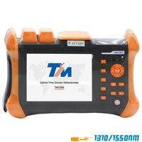 Ручной OTDR TMO 300 SM OTDR 1310/1550nm 30/28 дБ, интегрированный VFL, сенсорный экран, оптический временной домен, рефлектометр VFL через DHL