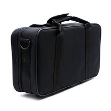 HOT 600D Water-resistant Gig Bag Box Oxford Cloth for Clarinet with Adjustable Single Shoulder Strap Pocket Foam Cotton Padded