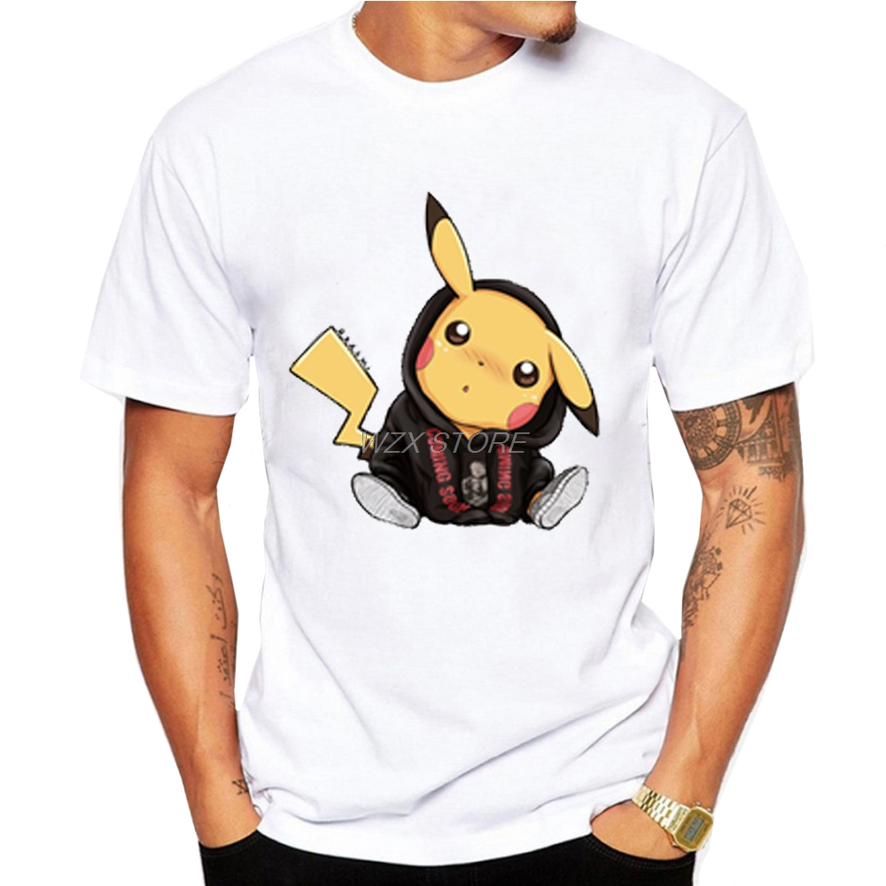 men-t-shirts-font-b-pokemon-b-font-ghibli-elemental-charms-kanji-monsters-print-tshirt-cute-anime-short-sleeve-pikachu-tee-tshirt-for-boys