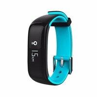 Unisex Waterproof Health Care Smart Bracelet Bluetooth Wrist Blood Pressure Monitor Heart Rate Monitoring Call Shock Reminder