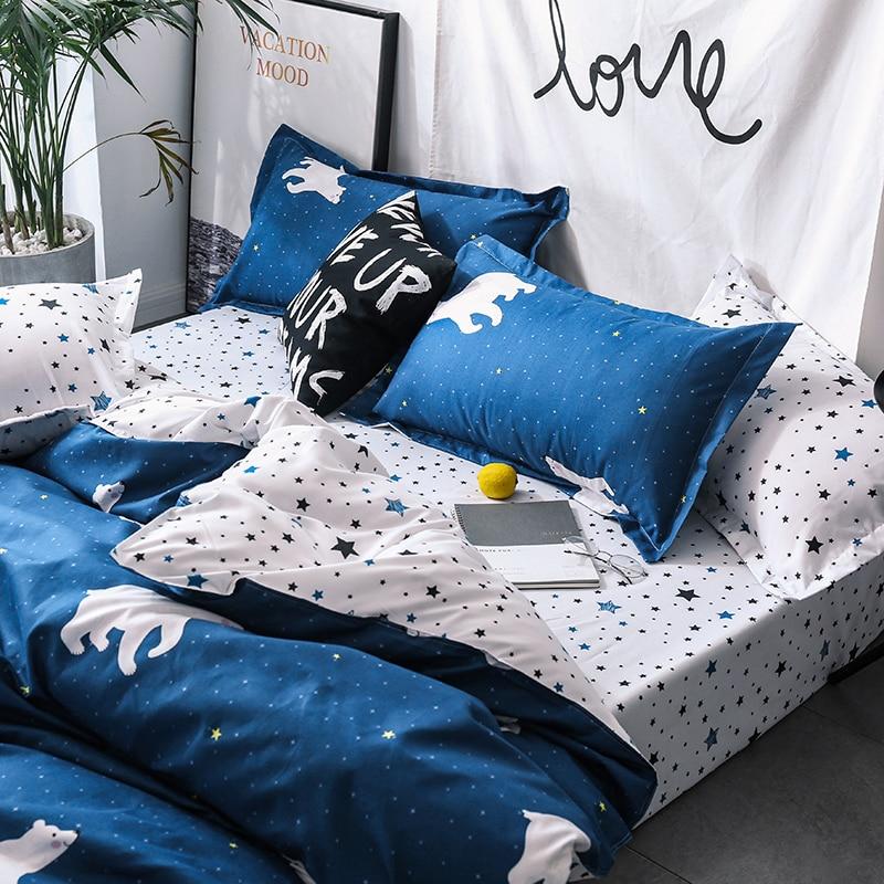 Solstice Home Textile Cartoon Polar bear Bedding Sets Children's - Home Textile - Photo 3