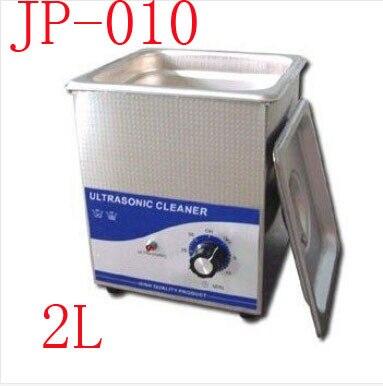 1 pc Chegada Nova Máquina de Limpeza Ultra-sônica JP-010 2L mini Limpador de Jóias Ultra-sônica máquina 220 V Ultrasonic Cleaner