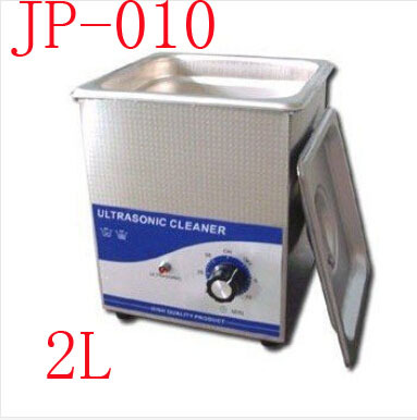 JP-010 1 pc New Arrival 2L mini máquina Limpador de Jóias Ultra-sônica Máquina de Limpeza Ultra-sônica 220 V Ultrasonic Cleaner