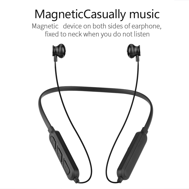 X7 Plus Bluetooth Earphones Magnetic Neckband Headset Waterproof Wireless Sport Stereo Headsets with Microphone for Smartphones