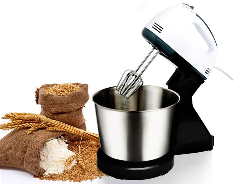 JamieLin Electric Food Mixer Table &Stand Cake Dough Mixer  Egg Beater Blender Whipping Cream Machine Food Processor
