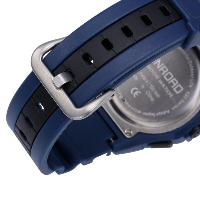 SUNROAD Relogio Digital Watch Waterproof Altimeter Compass Stopwatch Barometer Pedometer Outdoor Sport Watch Clock Women Men