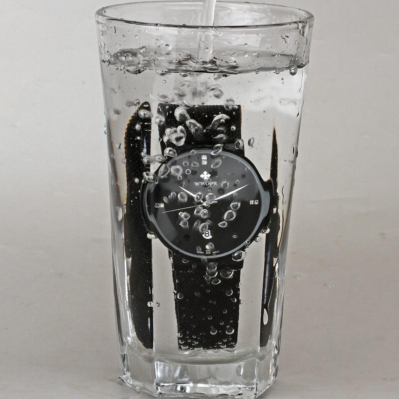 WWOOR μαύρο ρολόι ανδρών ρολογιών - Ανδρικά ρολόγια - Φωτογραφία 6