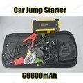 Мини Многофункциональный АВТО Аварийный Пуск Зарядное Устройство Двигателя Booster 69800 мАч Автомобиль Скачок Стартер Банк силы Для 12 В Батареи пакет