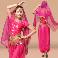 New Arrival Belly Dance Costume Bollywood Costume Indian Dress Bellydance Dress Womens Belly Dancing Costume Sets Tribal Skirt