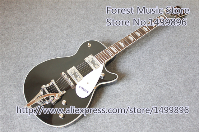 Cheap New Arrival G6128T-GH George Harrison Signature Duo Jet Grets. Electric Guitars For Sale