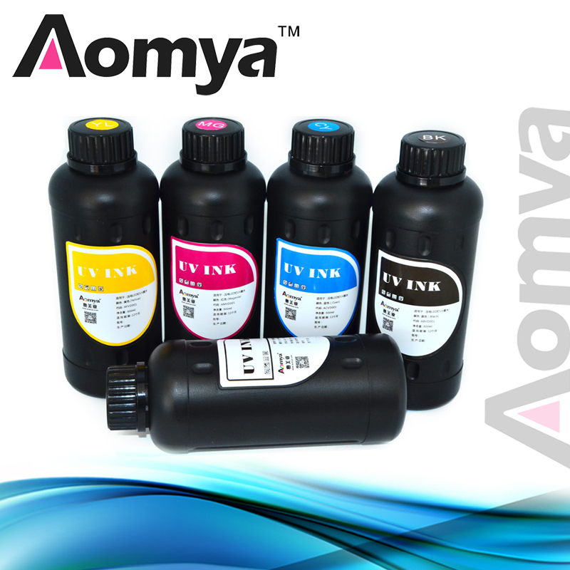 500ml*6C For Epson UV led flexible Ink For Epson R1800 R1900 R2000 R3000 UV flatbed printer on Leather/pp/pvc/film/TPU/Soft ink