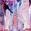 Новый DS костюм блестки джаз хип-хоп хип-хоп танцевальные брюки современной женщины этап