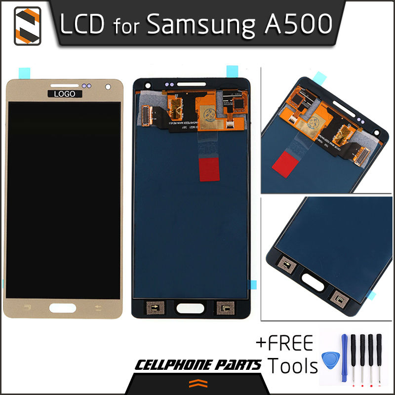 ФОТО LCD for Samsung Galaxy A5 2015 A500 A5000 A5009 A500F A500FU A500FQ A500M A500Y LCD Display Touch Screen Digitizer Assembly+Tool